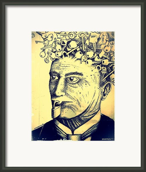 Impossibility Of Communication Framed Print By Paulo Zerbato