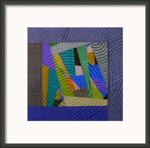 Impromptu 3 Framed Print By Marilyn Henrion