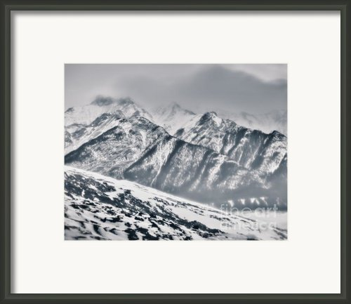 In A Chill And Wind-wracked Place Framed Print By Royce Howland