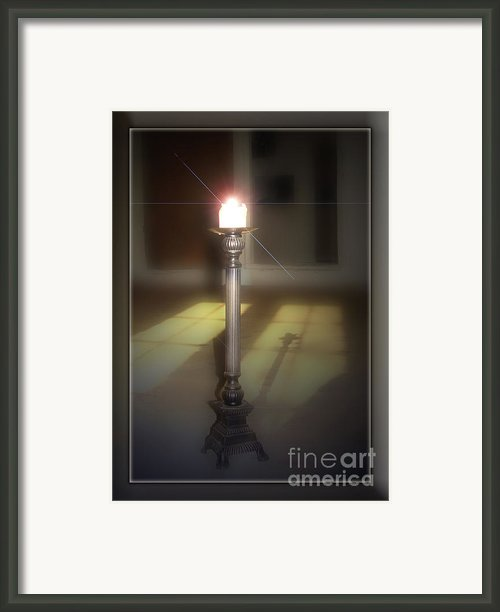In Memory Framed Print By Bruno Santoro