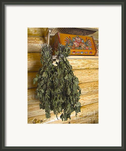 In Russian Bath Framed Print By Yury Bashkin