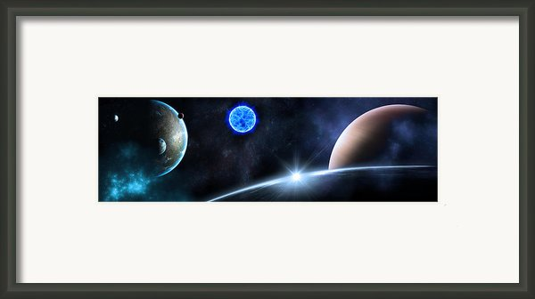 In Space Framed Print By Svetlana Sewell