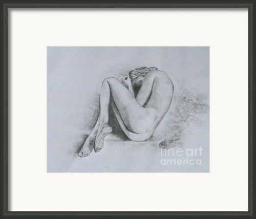 In Tears Framed Print By Christopher Keeler Doolin