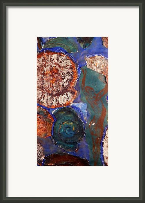 In The Beginning  Framed Print By Emma Manners