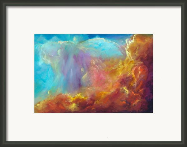 In The Beginning Framed Print By Sally Seago