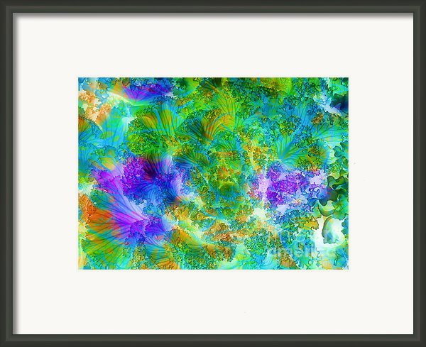 In The Cabbage Patch Framed Print By Judi Bagwell