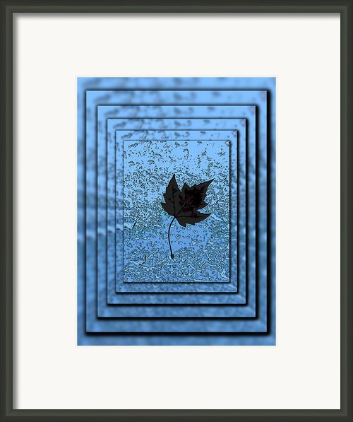In The Eye Of The Storm Framed Print By Tim Allen