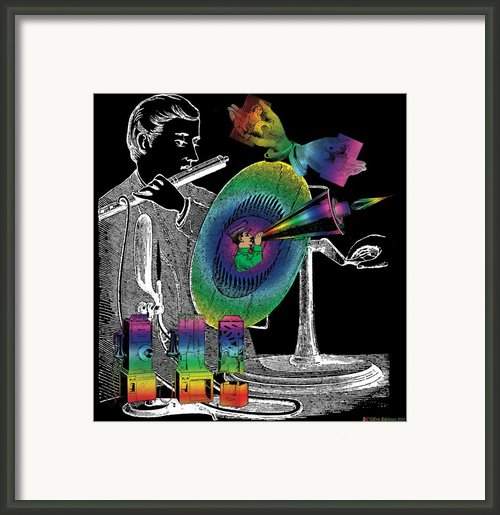 In The Spirit Of Communication Framed Print By Eric Edelman