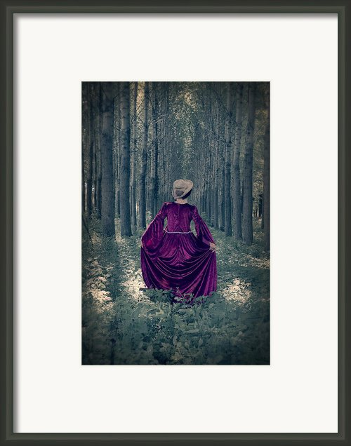 In The Woods Framed Print By Joana Kruse