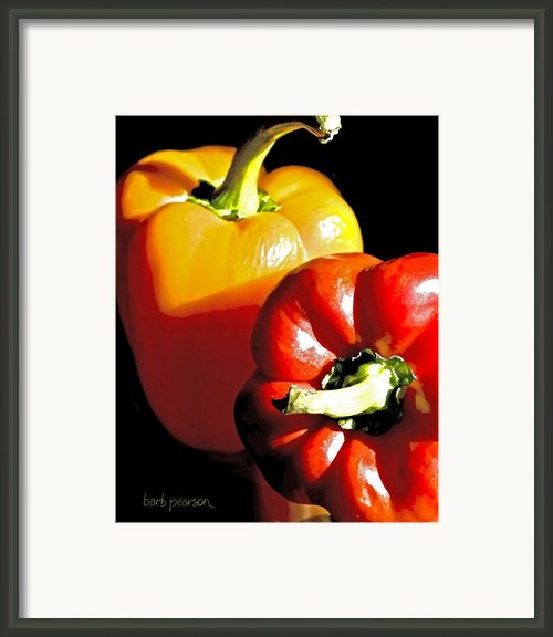 In Time For Dinner  Framed Print By Barb Pearson