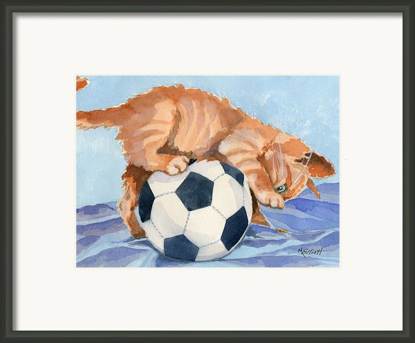 In Training Framed Print By Marsha Elliott