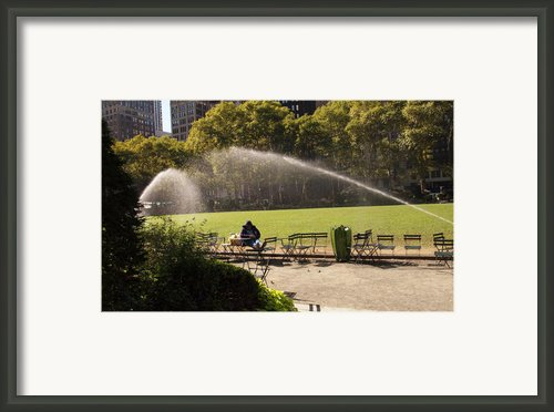 Incomming Framed Print By Luis Lugo