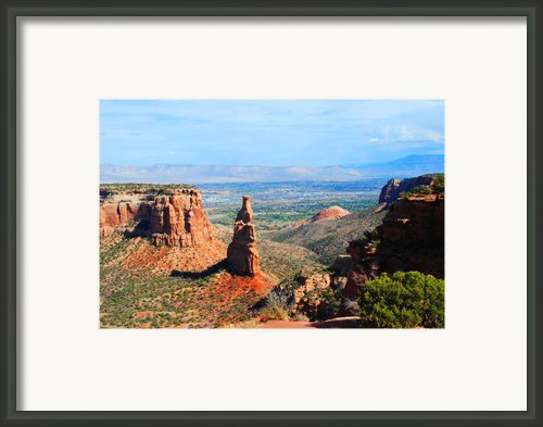 Independance Rock Framed Print By Deanne Smith