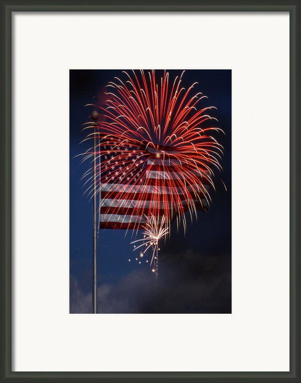 Independence Day Framed Print By Skip Willits
