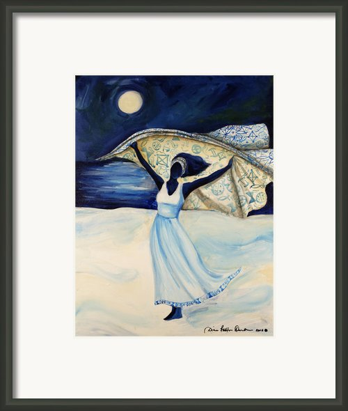 Indigo Beach Framed Print By Diane Britton Dunham