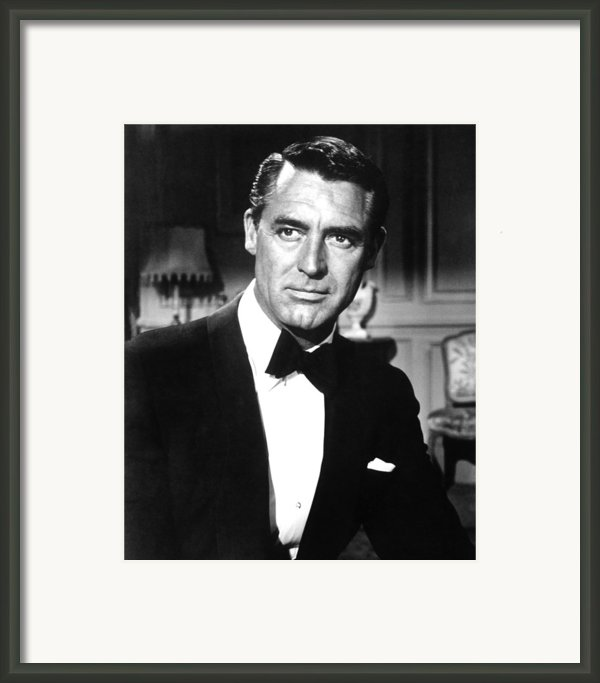 Indiscreet, Cary Grant, 1958 Framed Print By Everett