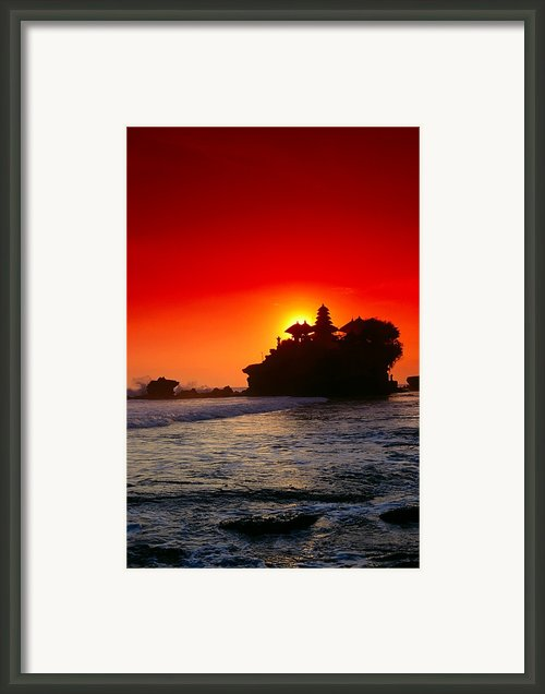 Indonesia, Bali Framed Print By Gloria & Richard Maschmeyer - Printscapes