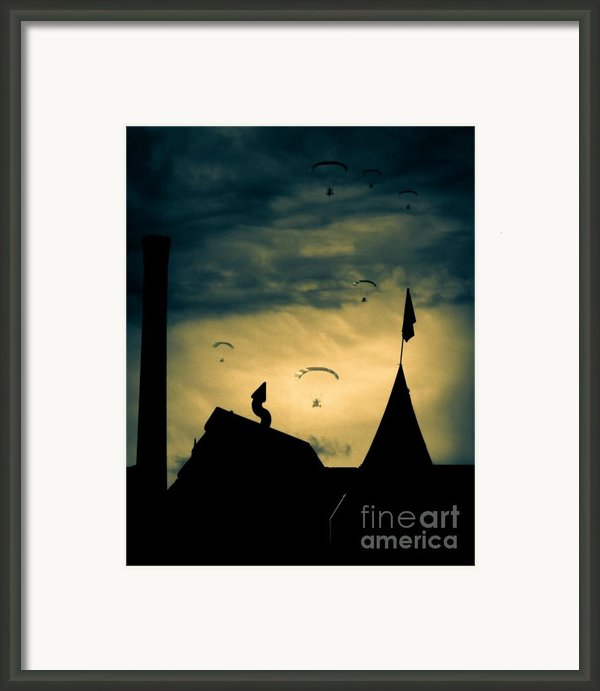 Industrial Carnival Framed Print By Bob Orsillo