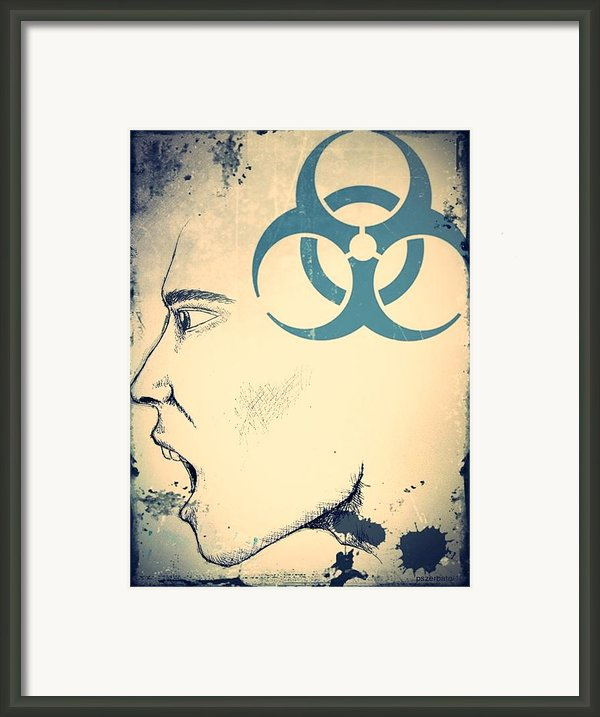 Infectious Substance Framed Print By Paulo Zerbato