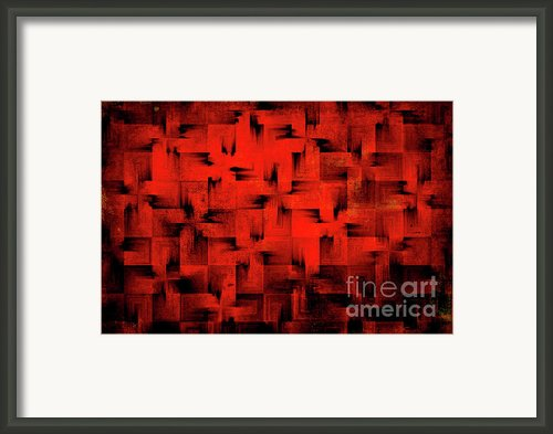 Inferno Framed Print By Silvia Ganora