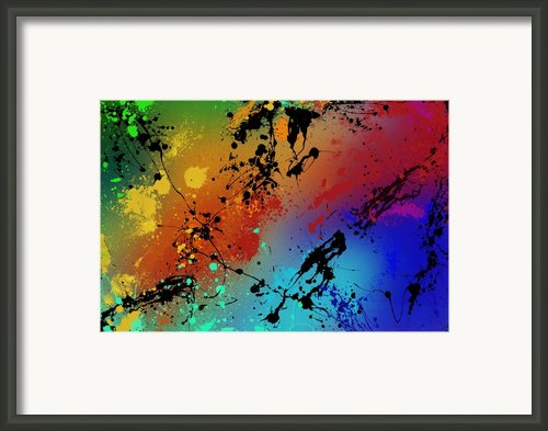 Infinite M Framed Print By Ryan Burton