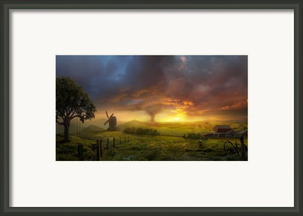 Infinite Oz Framed Print By Philip Straub