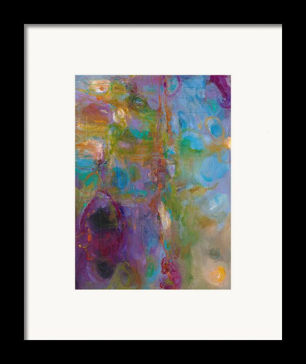 Infinite Tranquility Framed Print By Johnathan Harris