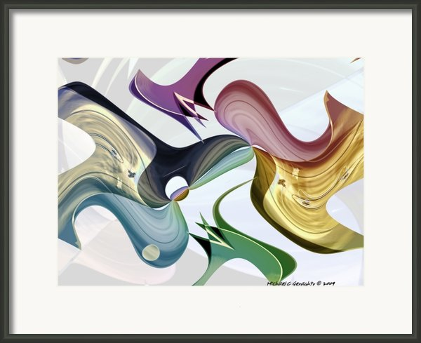 Infinity Series No.5 Framed Print By Michael C Geraghty