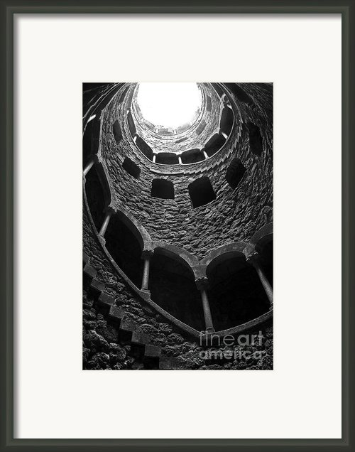 Initiation Well Framed Print By Carlos Caetano
