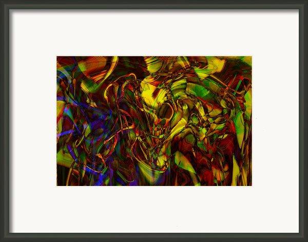 Injections Framed Print By Linda Sannuti
