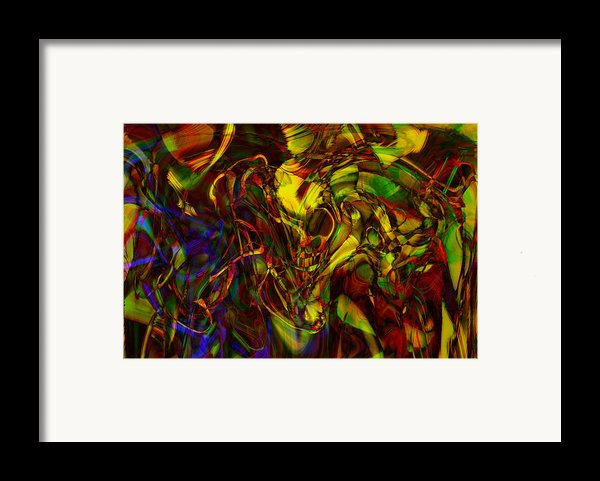 Injections Framed Print By Linda Sannuti