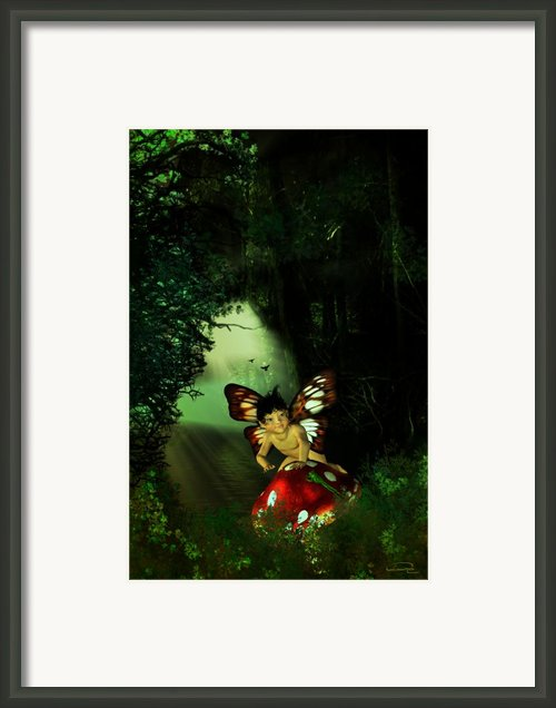 Innocence Framed Print By Emma Alvarez