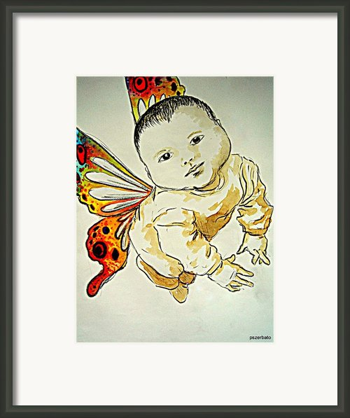 Innocence Framed Print By Paulo Zerbato