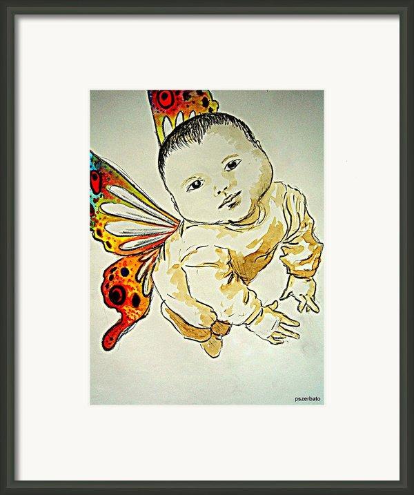 Innocence Framed Print By Paulo Zerbato