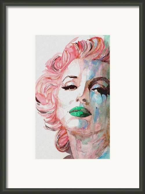 Insecure  Flawed  But Beautiful Framed Print By Paul Lovering