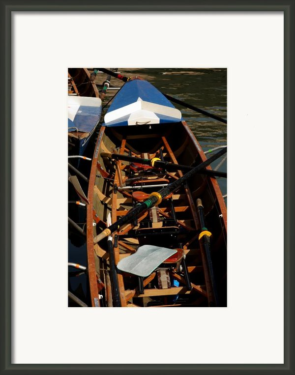 Inside Sail Boat Framed Print By Michael Henderson