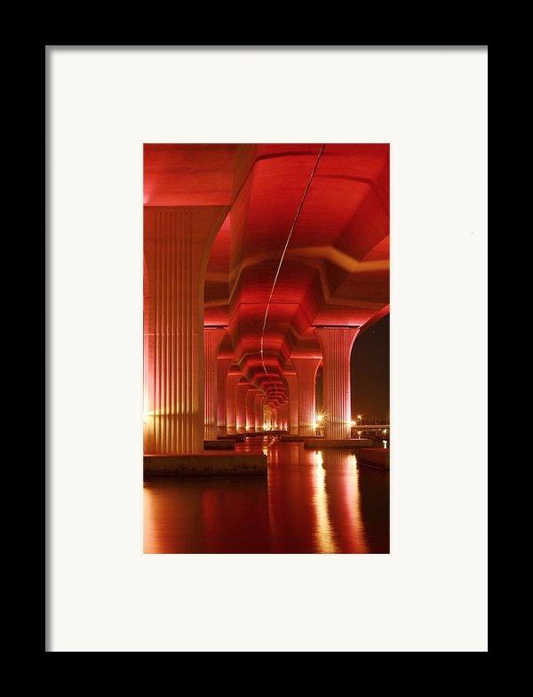 Inside Support Framed Print By Lynda Dawson-youngclaus