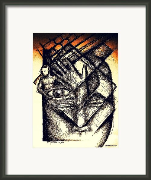 Interface Framed Print By Paulo Zerbato