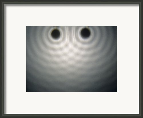 Interference Pattern Framed Print By Andrew Lambert Photography