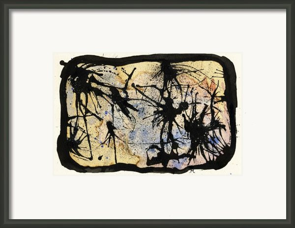 Internal Landscape Four Framed Print By Mark M  Mellon