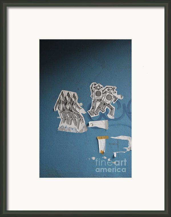 International Robots Framed Print By Jen Bodendorfer