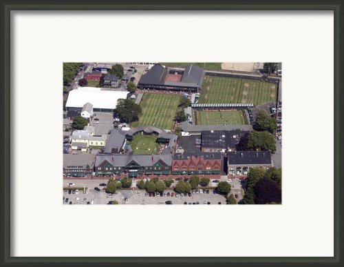 International Tennis Hall Of Fame 194 Bellevue Ave Newport Ri 02840 3586 Framed Print By Duncan Pearson