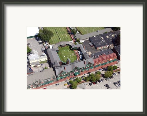International Tennis Hall Of Fame 194 Bellevue Avenue Newport Ri 02840 3586 Framed Print By Duncan Pearson