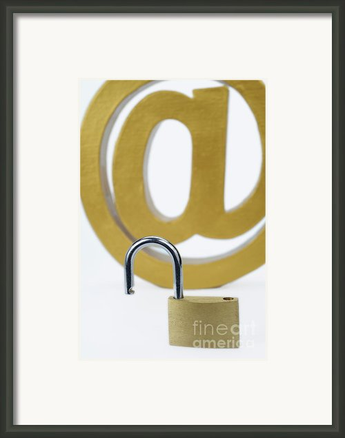 Internet Unsafe Framed Print By Sami Sarkis