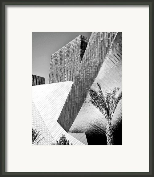 Intersection 1 Bw Framed Print By William Dey