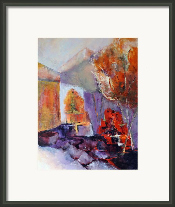 Intimiste Framed Print By Francoise Dugourd-caput