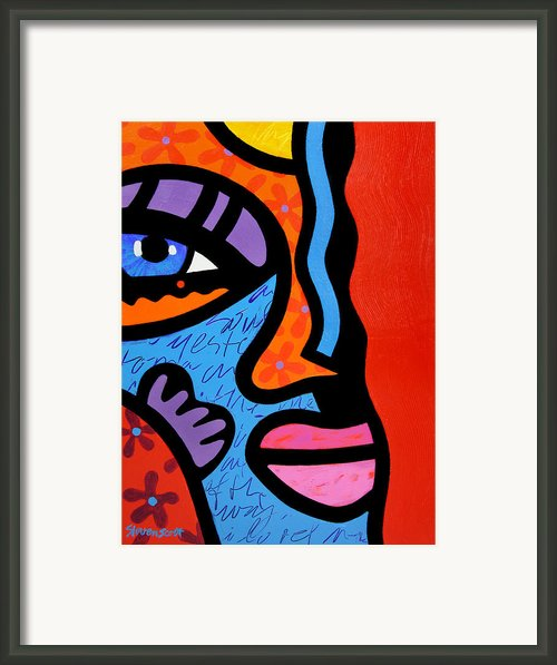 Into The Groove Framed Print By Steven Scott