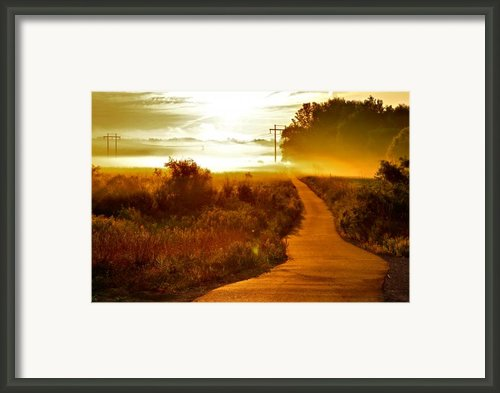 Into The Unknown Framed Print By Robert Pearson