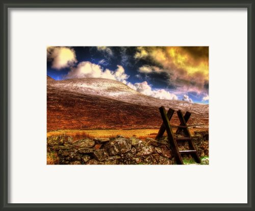Into The Wild Framed Print By Kim Shatwell-irishphotographer