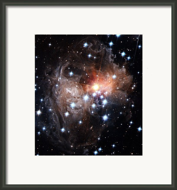 Intricate Structures In Interstellar Framed Print By Esa And Nasa